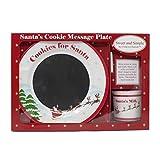Sweet & Simple Santa's Cookie Message Plate