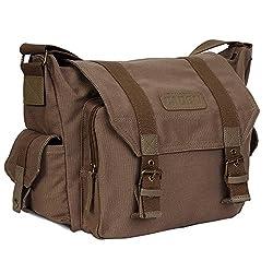 top rated CADeN Lightweight Vintage Waterproof Canvas Shockproof DSLR SLR Shoulder Bag… 2021