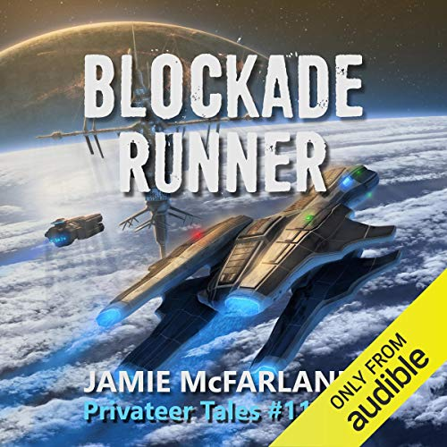 Blockade Runner audiobook cover art