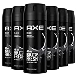 Axe Black Rock Desodorante - 150 ml - Pack de 6
