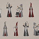 SCHÖNER LEBEN. Dekostoff Ottoman Canvas Druiden Magier