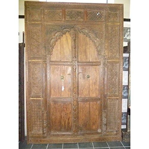 int. d'ailleurs - Sehr große indische Tür Arche. - AR148