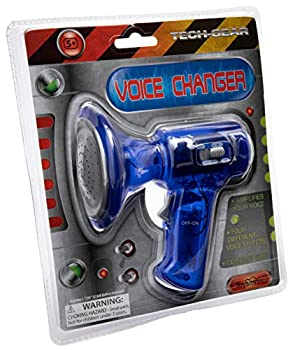 Toysmith Tech Gear Multi Voice Changer  6.5-Inch Various Colors