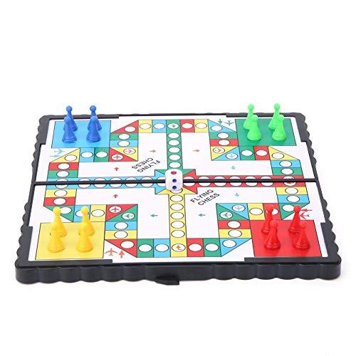 Juego de mesa de ajedrez magnético para niños, juego educativo para padres e hijos, regalo de fiesta para niños y niñas