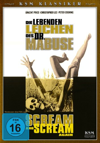 Die lebenden Leichen des Dr. Mabuse - Scream and Scream again (KSM Klassiker)