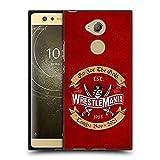 Head Case Designs sous Licence Officielle WWE Optez pour l'or 2 Wrestlemania 37 Logos Coque Noir en...