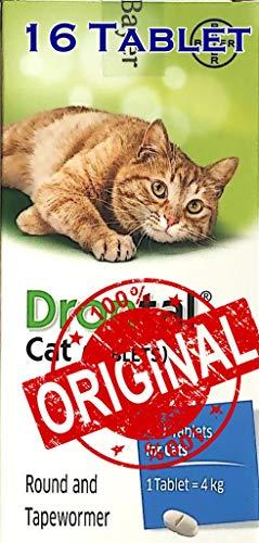 Pet products Dron@tal Cat 16 Tablets