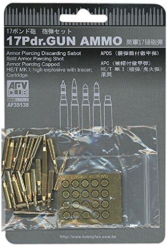 AFV Club 1:35 - British 17pdr Gun Ammunition - AFV35138