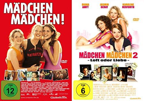 Mädchen Mädchen! 1 + 2 (Teenager 2er DVD-Set)
