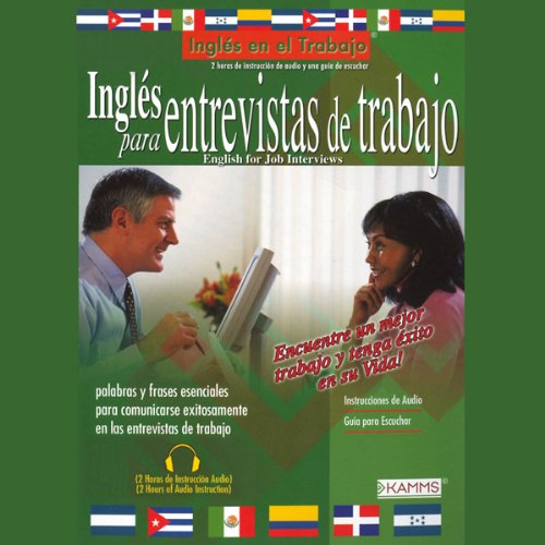 Ingles para Entrevistas de Trabajo (Texo Completo) [English for Job interviews] audiobook cover art