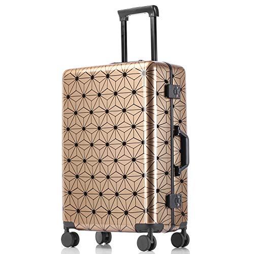 kroeus(クロース)旅行用スーツケース キャリーバッグ ABS+PC素材 静音 3段階調節キャリーバー 安心1年間保証 TSAロック付き 海外旅行 4サイズ 29