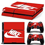 Adventure Games - PS4 ORIGINAL - Nike - Playstation 4 Vinyl Console Skin Decal Sticker + 2 Controller Skins...