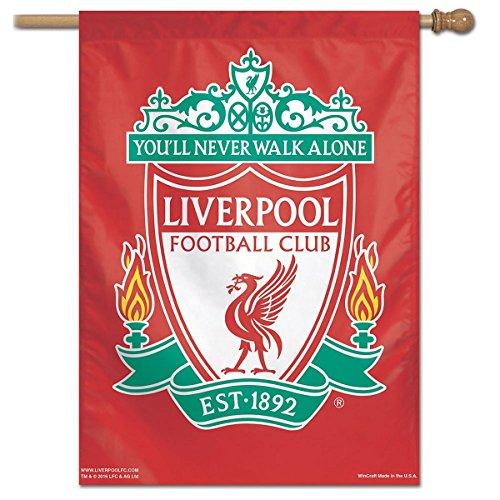 Wincraft Liverpool FC Vertikale Fahne, Rot, 71 x 102 cm