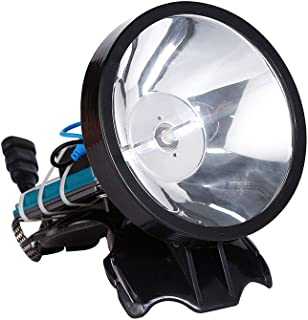 Image of HLIGHT 12V Headlamp 100W Xenon Headlight External DC Power Fast Starting Hunting Fishing Lamp Searchlight,White Light
