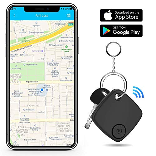 Key Finder Locator - Key Finder Smart Tracker Device with App for Phones Keychain Purse Luggage Bag - Anti-Lost Bluetooth Item Finder Wallet Tracker