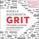 Grit Audible cover by Angela Duckworth