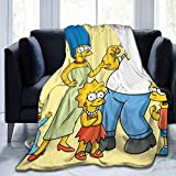 FASHIONDIY  Anime-Cartoon-Simpsons-Decke  übergro
