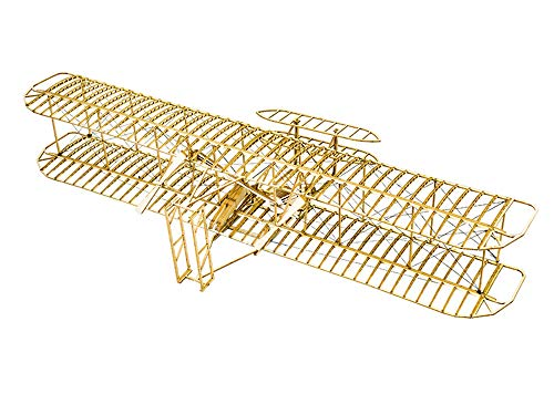 Wright Brothers Flyer DIY Wooden Models Plane Construction Set