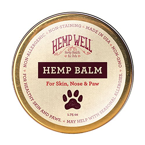 Hemp Well Hemp Rub for Pets - Organic Pet Balm, Dogs and Cats,...
