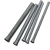 Dyda6 - Juego de 5 tubos de acero inoxidable para...