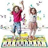 Alfombrilla De Piano Para Niños, Manta Musical Portátil, Instrumento De Juguete Con 8 Sonidos De Animales, Alfombrilla De Baile, Juguete Educativo, Regalo Para Niños Pequeños De 2 A 8 Años