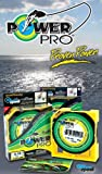 POWER PRO Super Line - Hilo de pesca trenzado (275 m, 0,10 mm, 5 kg), color verde musgo