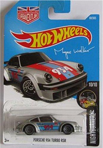 Hot Wheels 2017 HW Night Burnerz Magnus Walker Porsche 934 Turbo RSR Silver 68/365 (Long Card)