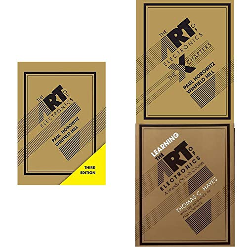 The Art of Electronics – complete 3 book set