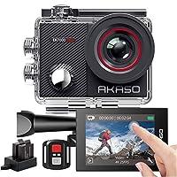 【AKTUALISIERUNG SERIE VON AKASO EK7000】: AKASO EK7000 Pro Actionkamera liefert 4K / 30fps, 2.7K / 30fps, 1080P / 60fps-Videos und 20 MP-Fotos, mit der Sie jeden Moment mit gestochen scharfen Details und beispielloser Klarheit aufnehmen können. 【INTUI...