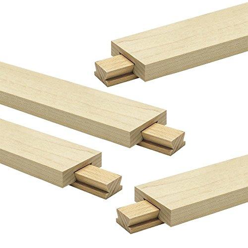 Classic Wood Center-Mount Drawer Slide, 4-Pack