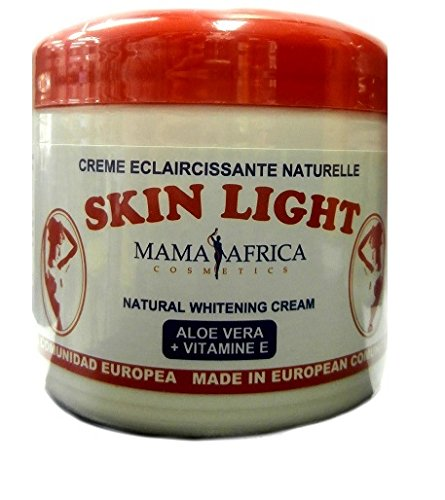 Mama Africa Skin Light Natural Whitening Cream Alove Vera + Vitamin E 450ml