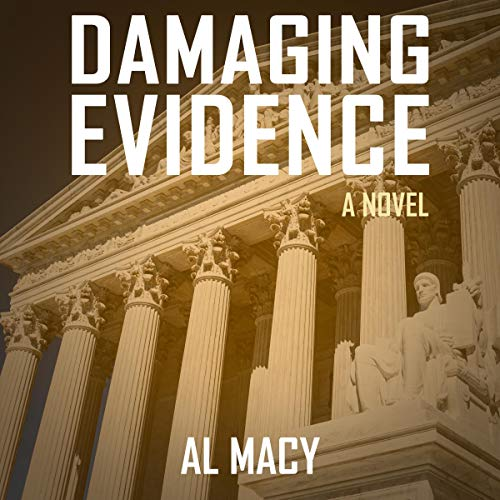 Damaging Evidence audiobook cover art