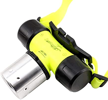 DJSkd Waterproof Outdoor Headlights Submersible Headlights Glare Rechargeable Super Bright LED Flashlight Underwater Professional