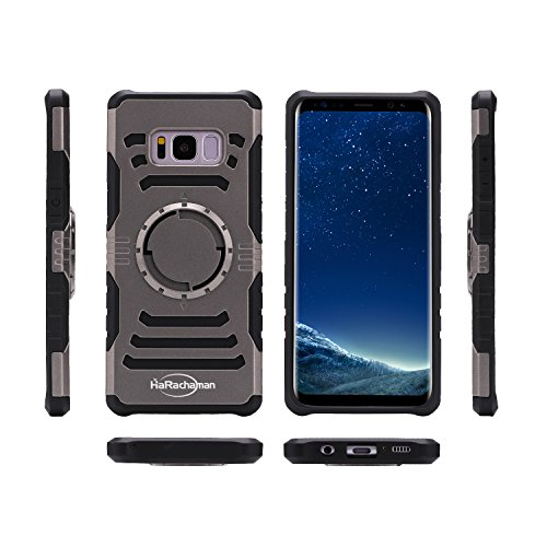 HaRachaman Galaxy S8 Plus Sports Armband Detachable&Rotating Sports Armband Built-in Iron Designed for Car Holder Shockproof Phone Case for Samsung Galaxy S8 Plus