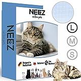 NEEZ Red para Balcones y Ventanas I Red de Seguridad Transparente Incl. Kit de...