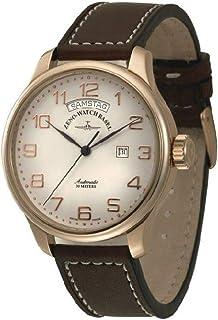 Zeno - Watch Reloj Mujer - OS Retro Big Day Gold Plated - 8554DD-12-Pgr-f2
