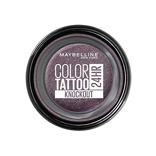 Maybelline New York Color Tattoo Creme-Gel Lidschatten, 160 Knockout, Violett, 53 G