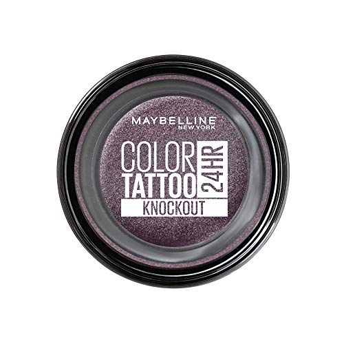 Maybelline New York Color Tattoo Creme-Gel Lidschatten, 160 Knockout, Violett, 53 G