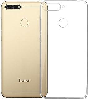 fd45376cfcf Electrónica Rey Funda Carcasa Gel Transparente para Huawei Honor 7A / Y6  Prime 2018, Ultra