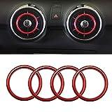 Dihoo Auto Klimaanlage Dekoration Ring Luftaustritt Dekoration Lüftungsdüsen...