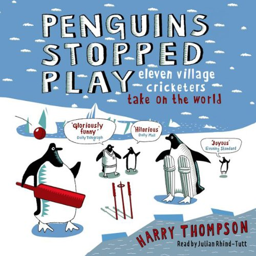 Penguins Stopped Play audiobook cover art