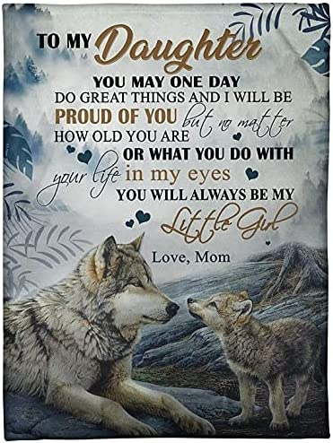 Kassandra Personalized Wolf to My Daughter trust Will Alw Gifts Mom You from