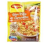 Maggi Sopa de Pollo con Caracolitos Chicken Snails Soup (12 Pack)