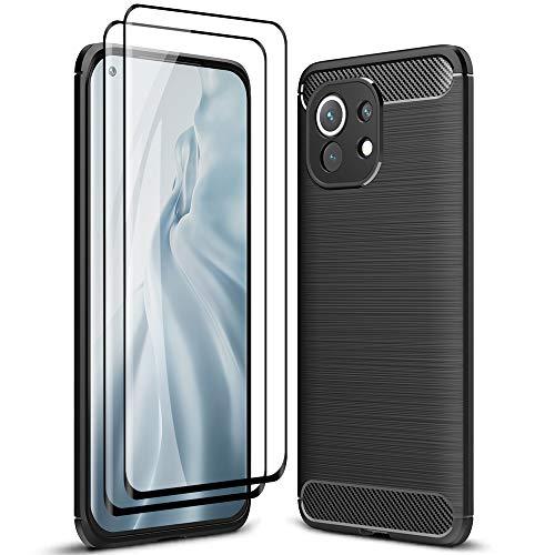 ALAMO Funda Ultra de Silicona para el Xiaomi MI 11, Carcasa...