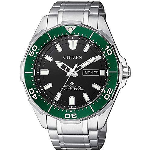 Citizen Promaster Diver 200 mt Automatico NY0071-81E Orologio da polso Uomo lunetta verde Supertitanio