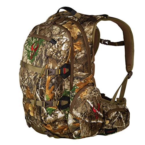 Badlands Superday Hunting Backpack - Bow, Rifle, Pistol Compatible, Realtree Edge