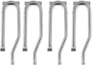 4 Pack Grill Burner for Nexgrill 720-0336, 720-0337, 730-0337, 730-0339, Duro 720-0584A, Member's Mark 720-0586A & Jenn-air 720-0337, 720-0339, 720-0511, 720-0512, 730-0336, Gas Models