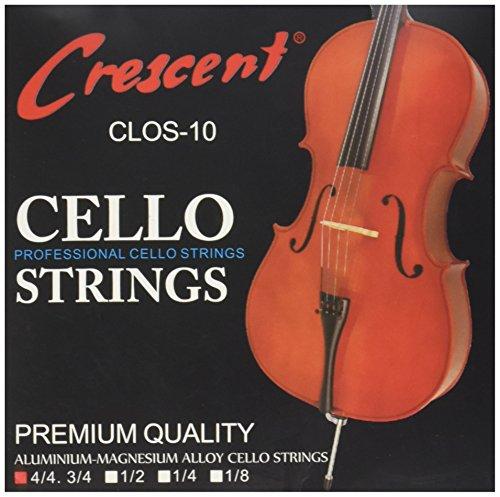 TOOGOO(R) Corde avvolte in alpacca per violoncello 4/4 Set