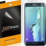 (2 Pack) Supershieldz for Samsung Galaxy (S6 Edge Plus) Screen Protector, (Full Screen Coverage) (3D Curved PET) High Definition Clear Shield