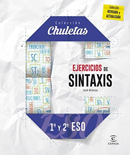 Ejercicios de sintaxis 1º y 2º para la ESO (CHULETAS)